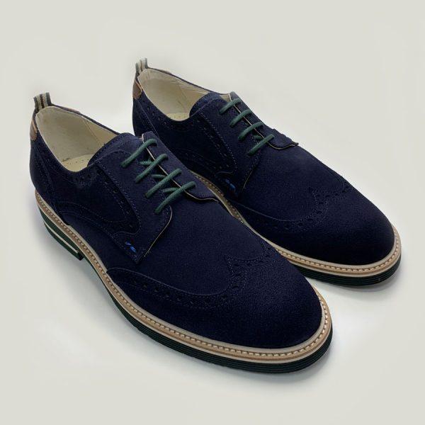 blucher azul con cordones seryey 4