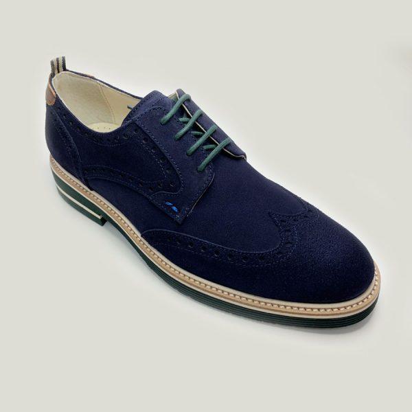blucher azul con cordones seryey 3