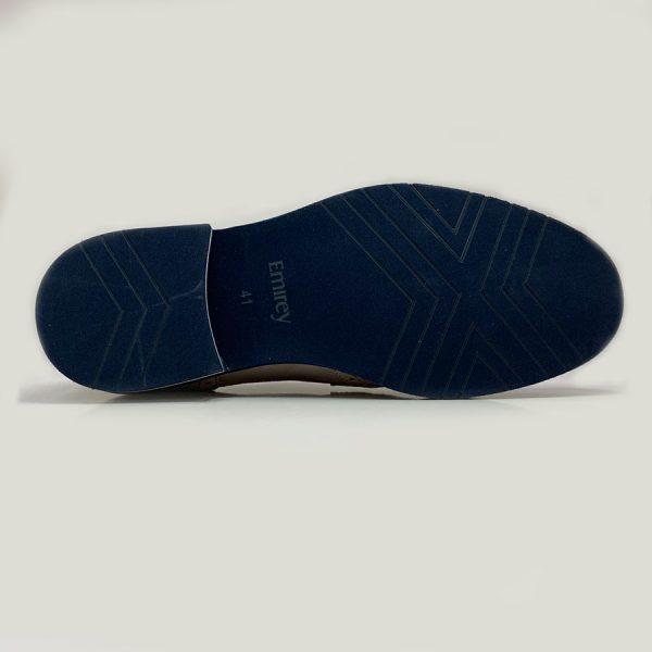 Zapato Seryey Blucher Gris con Cordones 3